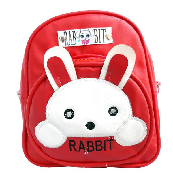 کوله پشتی دخترانه طرح خرگوشی مدل Lux-003