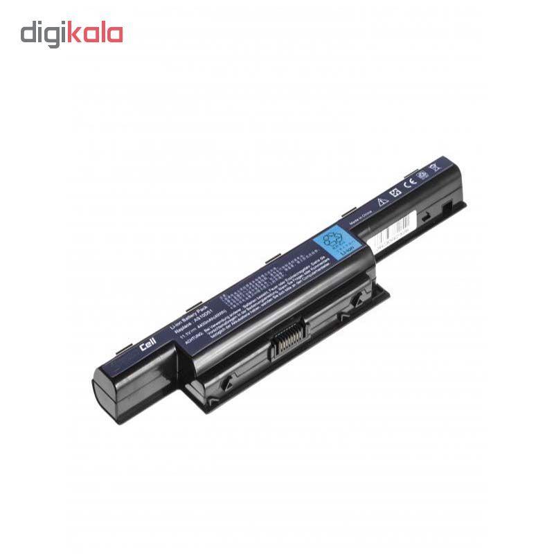 باتری لپ تاپ 6 سلولی مدل E1-571 مناسب برای لپ تاپ ایسر main 1 3