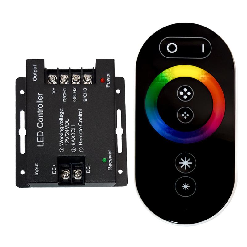 ریموت کنترل نوار ال ای دی مدل RGB432