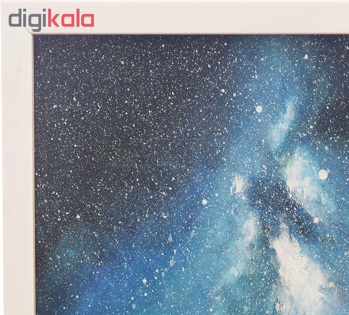 خرید                      تابلو اکریلیک طرح کهکشان کد 002