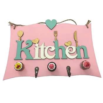 آویز آشپزخانه طرح kitchen