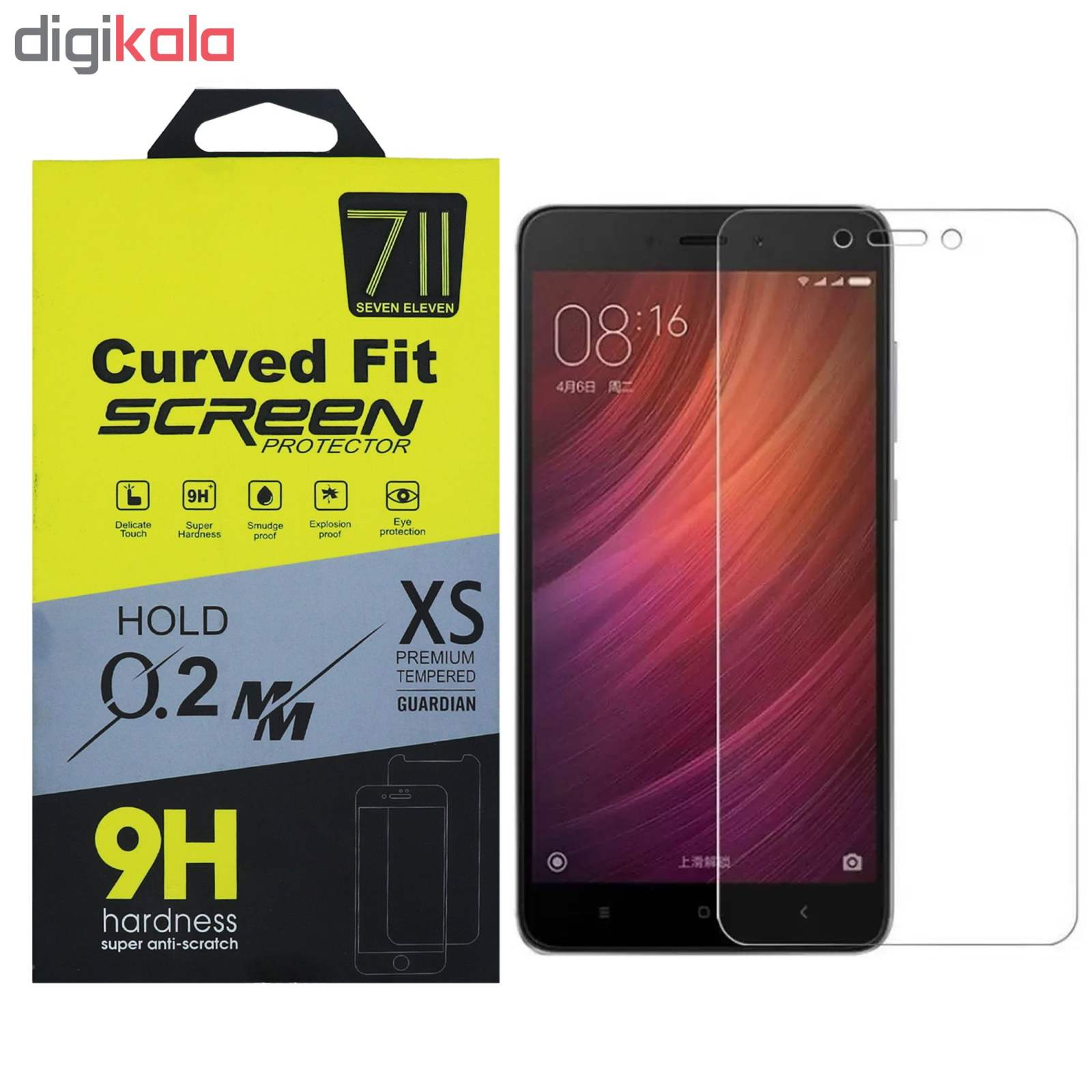 محافظ صفحه نمایش سون الون مدل Tmp مناسب برای گوشی موبایل شیائومی  Redmi Note 4 main 1 1