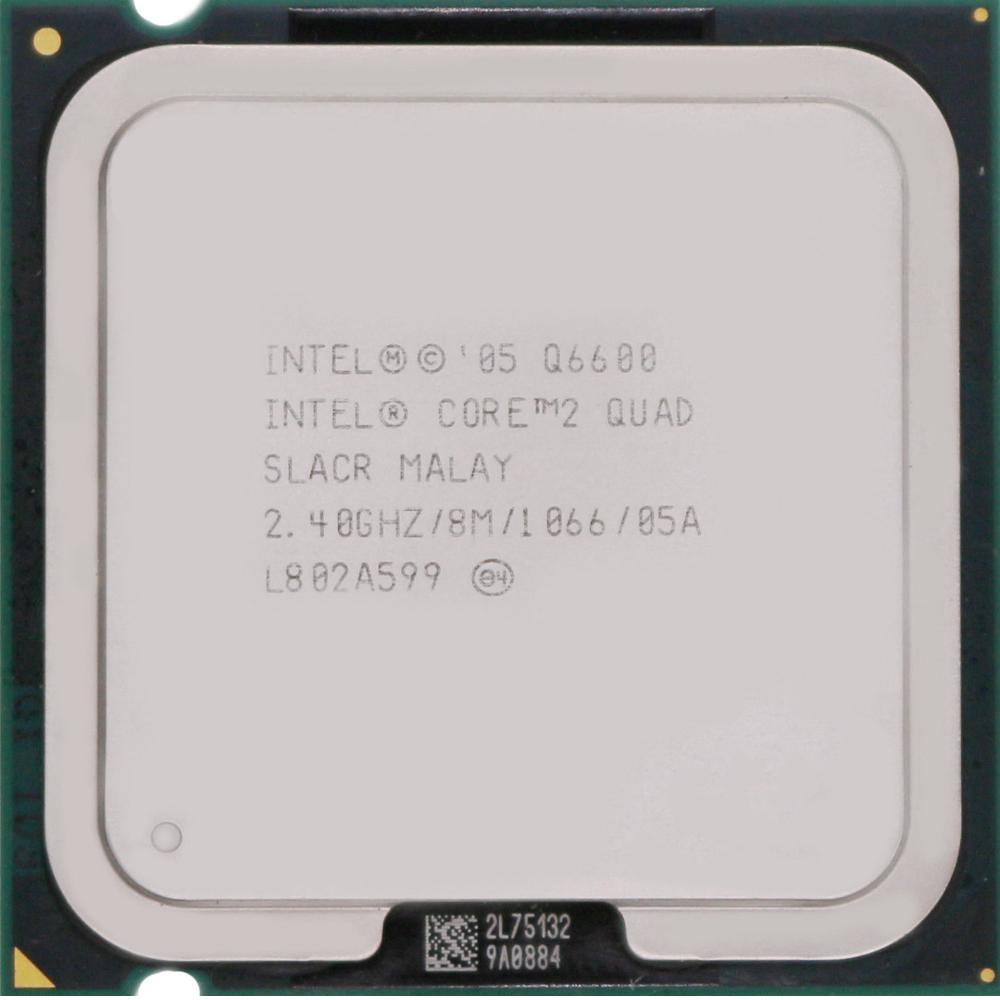 بررسی و {خرید با تخفیف} پردازنده مرکزی اینتل سری Wolfdale مدل Q6600 اصل