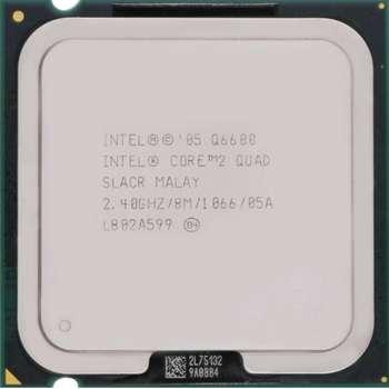 پردازنده مرکزی اینتل سری Wolfdale مدل Q6600