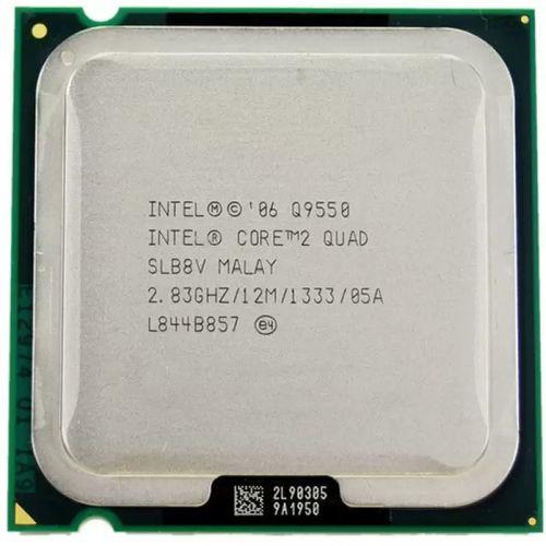 پردازنده مرکزی اینتل سری Wolfdale مدل Q9550