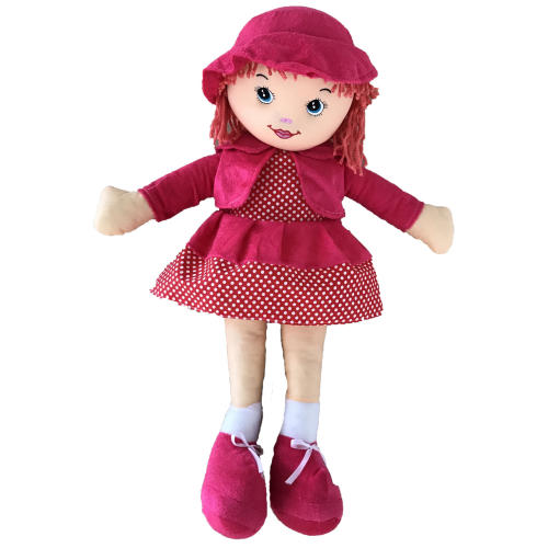 عروسک طرح دختر موکاموایی XL ارتفاع 70 سانتی متر
