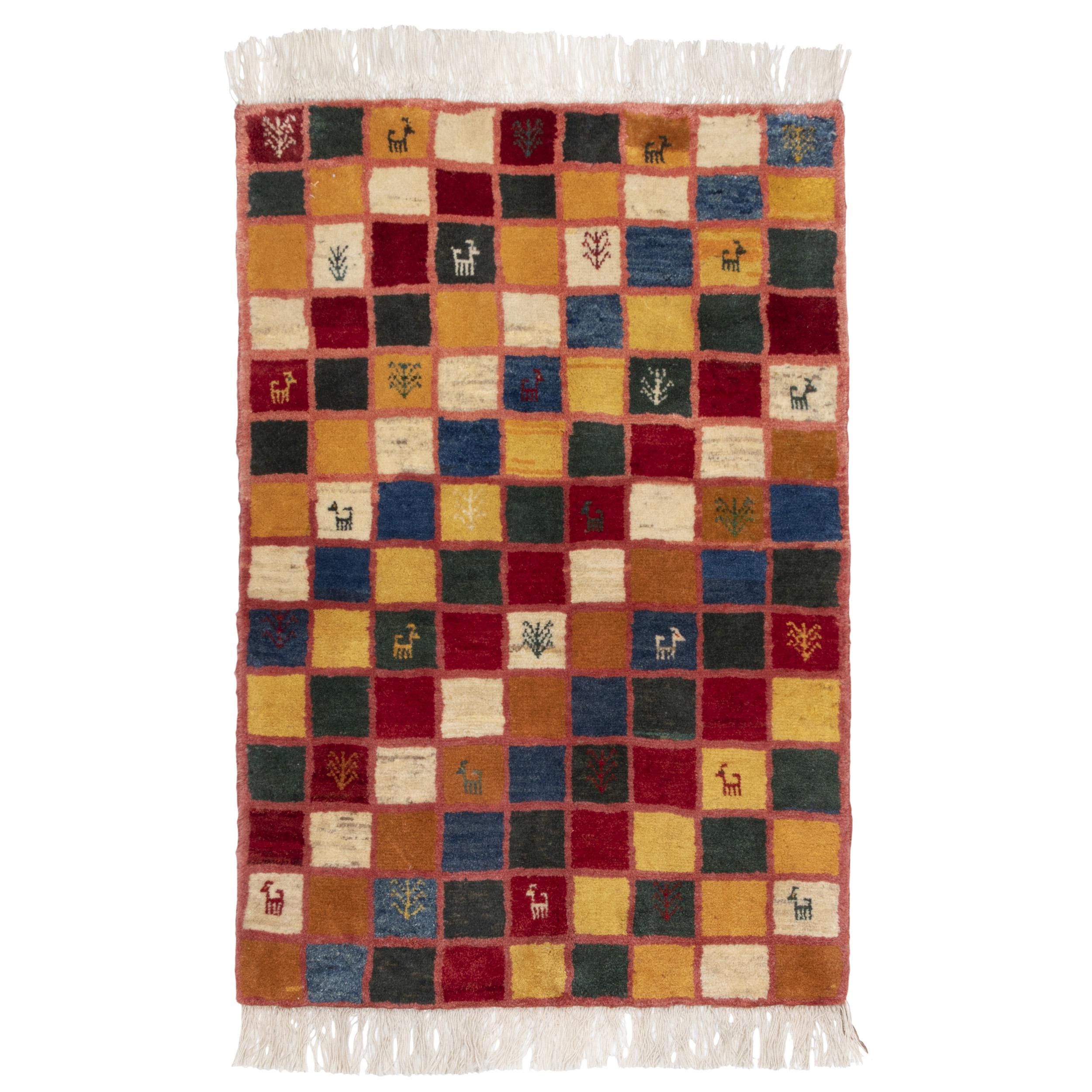 گبه دستباف ذرع و نیم سی پرشیا کد 166138