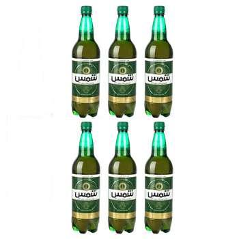 نوشیدنی مالت بدون الکل کلاسیک شمس حجم 1 لیتر بسته 6 عددی