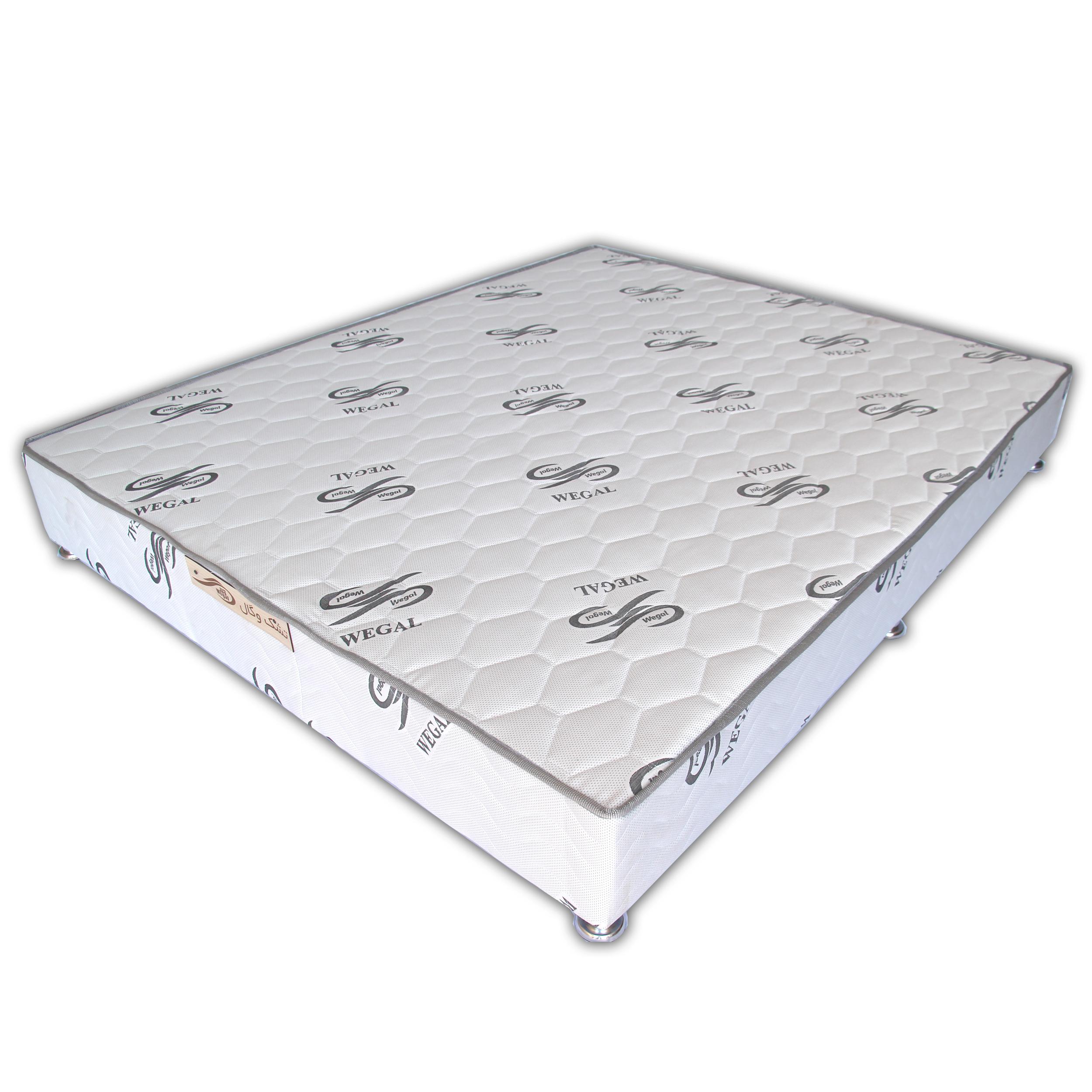 تخت خواب دو نفره وگال مدل BOX140 سایز 200×140 سانتیمتر