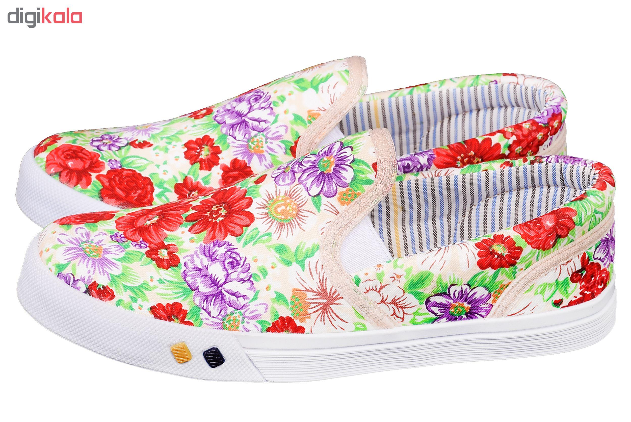 کفش راحتی دخترانه کد 3254-CR