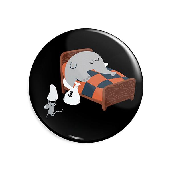 پیکسل ماسا دیزاین طرح استیکر فیل و موش کد ASG41