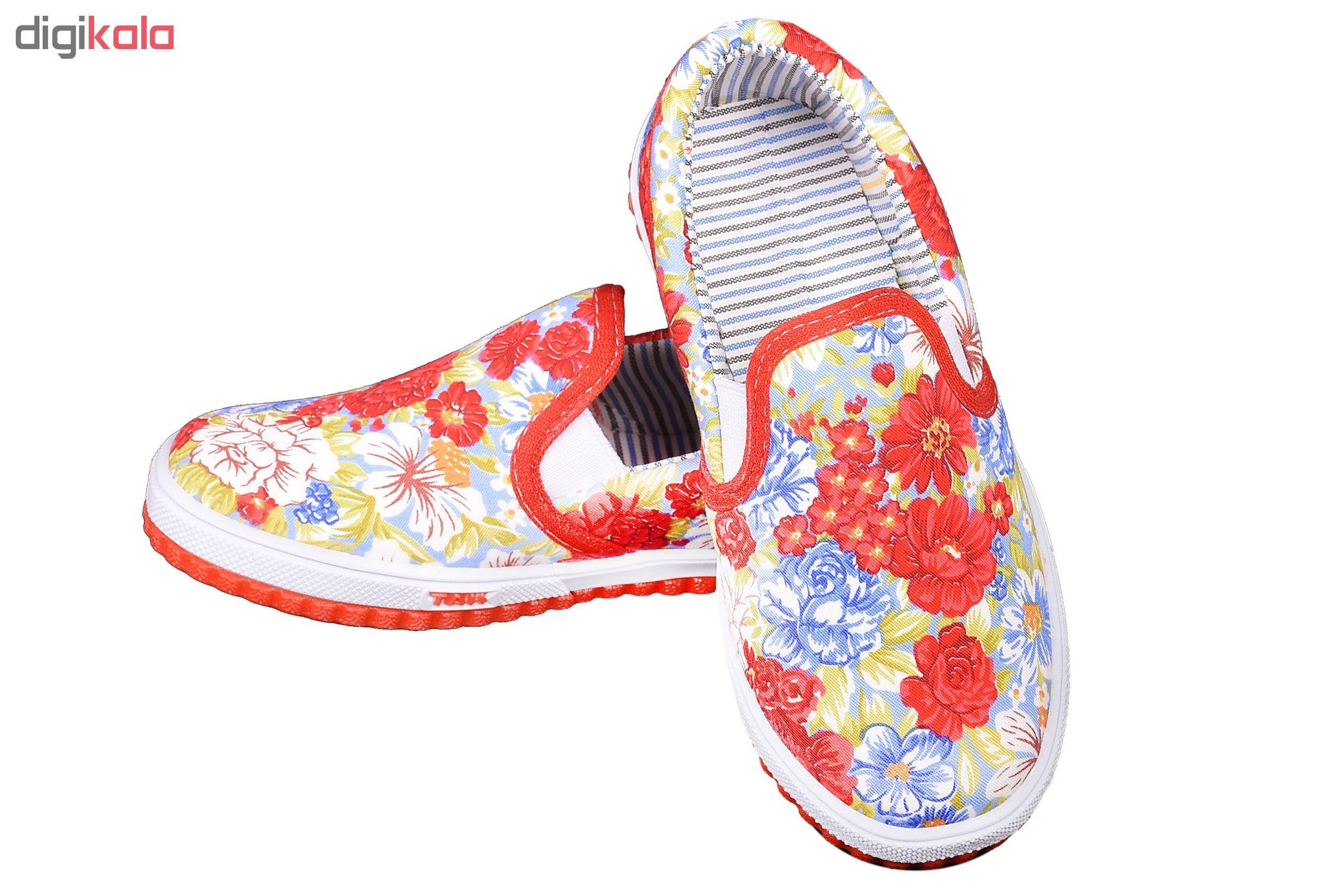 کفش  راحتی دخترانه کد 3254-RD main 1 3