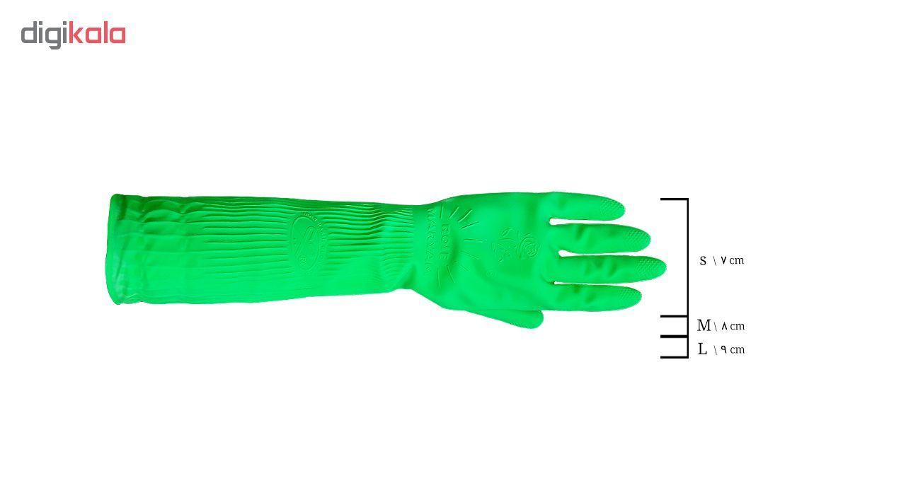 دستکش آشپزخانه رزمریم مدل LRose-M main 1 2