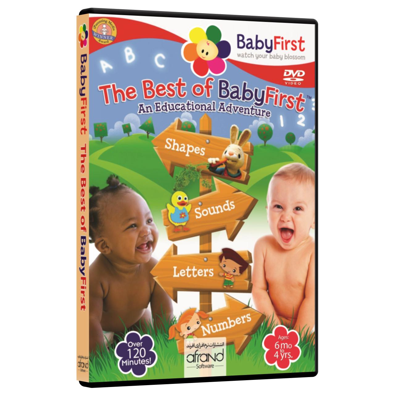فیلم آموزش زبان انگلیسی BabyFirst The Best of Baby First انتشارات نرم افزاری افرند