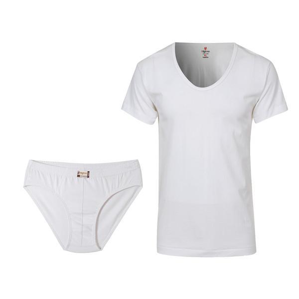 ست لباس زیر مردانه هاینو مدل 3001-04