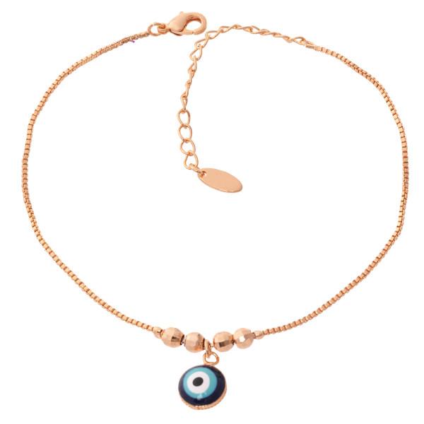 پابند زنانه طرح چشم نظر کد PA1101