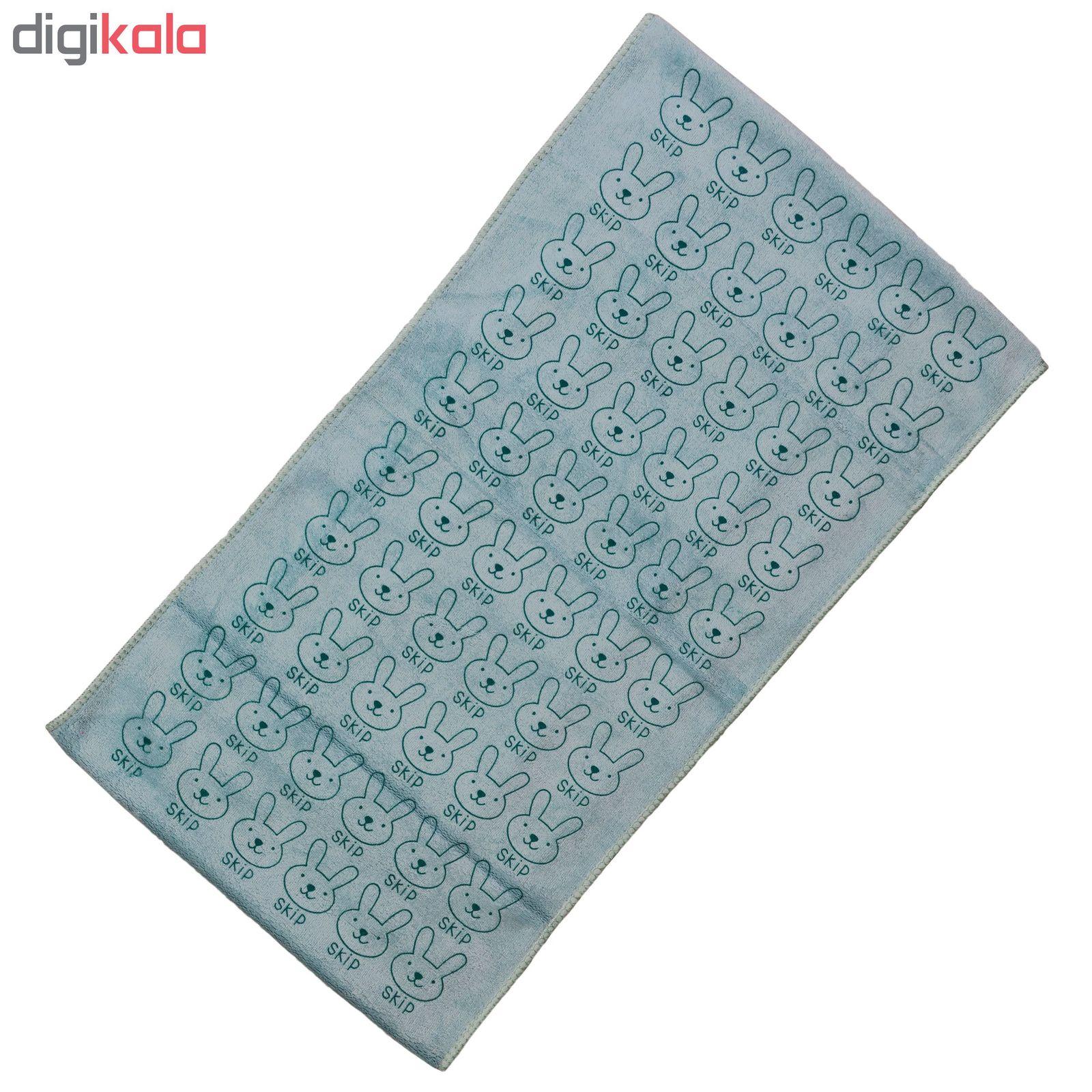 دستمال نظافت خودرو طرح رابیت کد 223 main 1 5