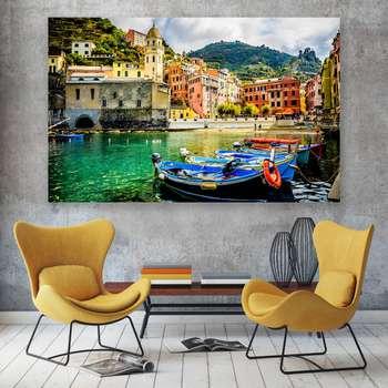 تابلو شاسی سری زیباترین عکس های جهان طرح مناظر دیدنی ایتالیا کد 443