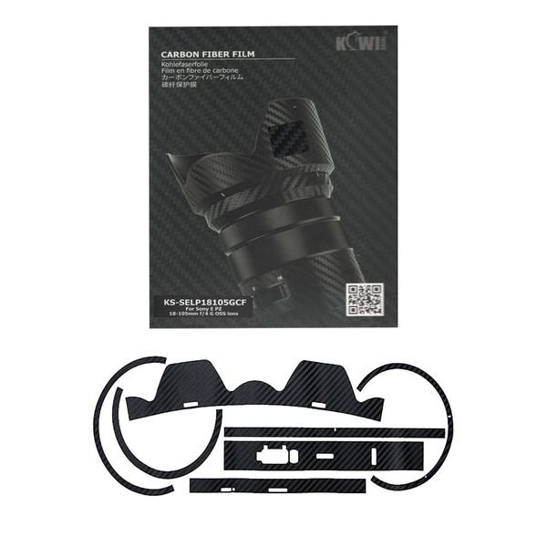 برچسب پوششی لنز کی وی مدل KS-SELP18105GCF مناسب برای لنز سونی E PZ 18-105mm f/4 G OSS
