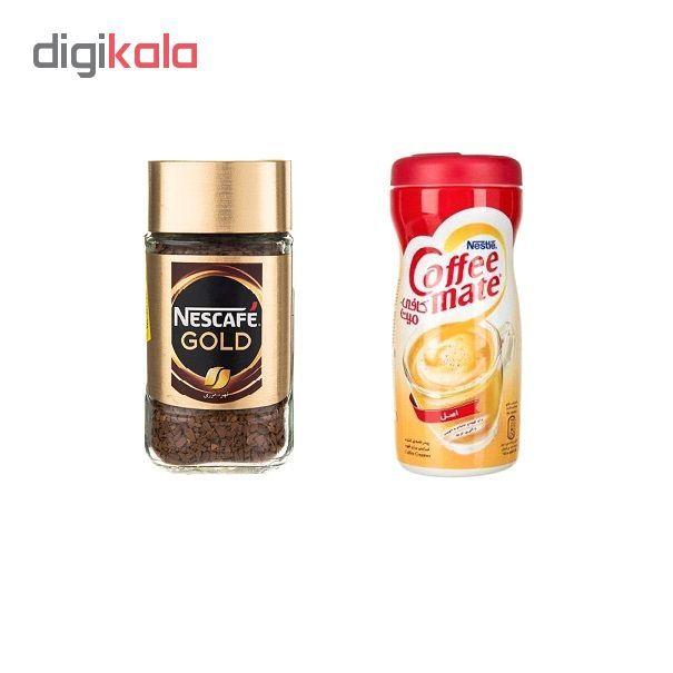 قهوه فوری نسکافه مدل GOLD مقدار 50 گرم به همراه کافی میت نستله 170 گرم main 1 1