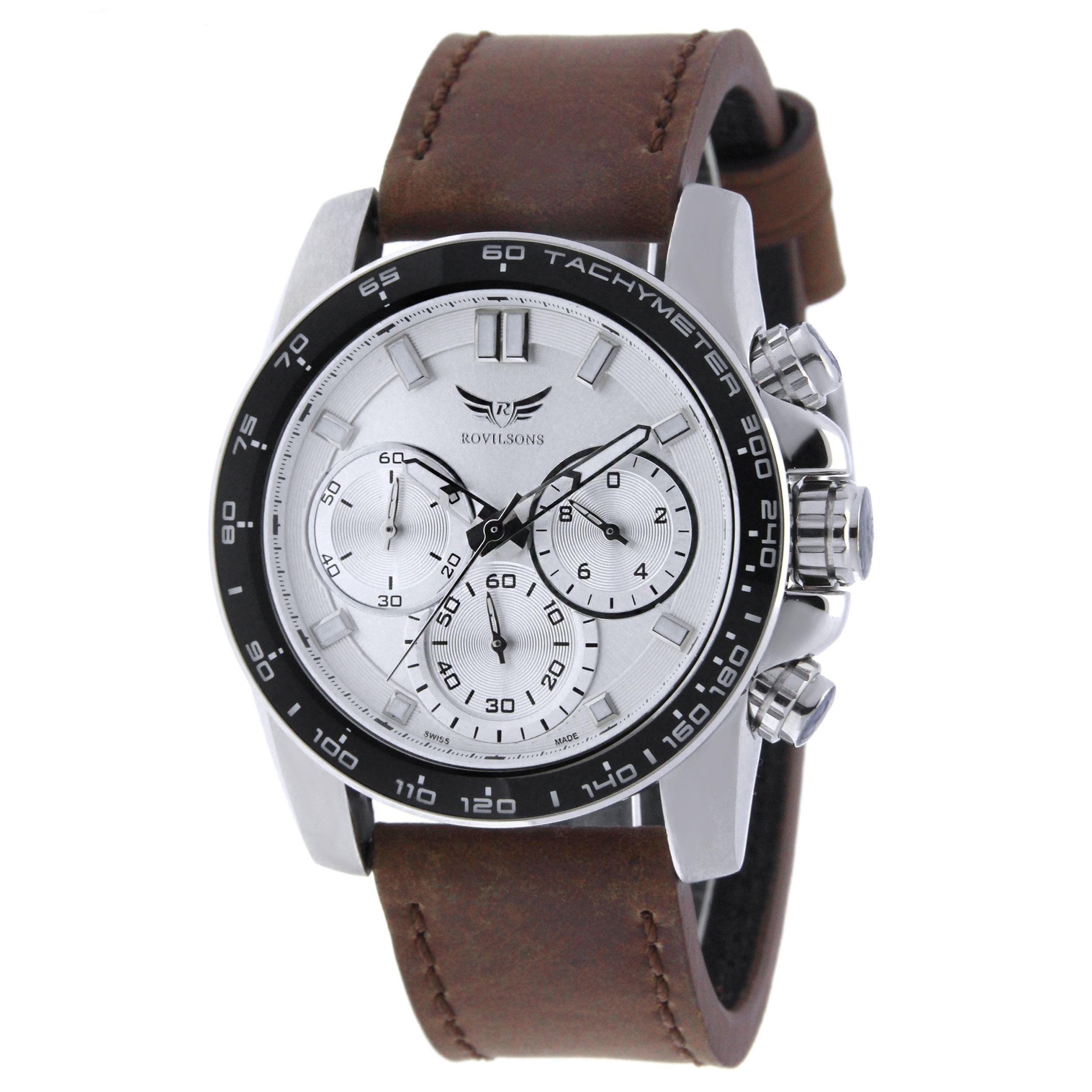 ساعت مچی عقربه ای مردانه راویلسون مدل RW-1058G-2 5