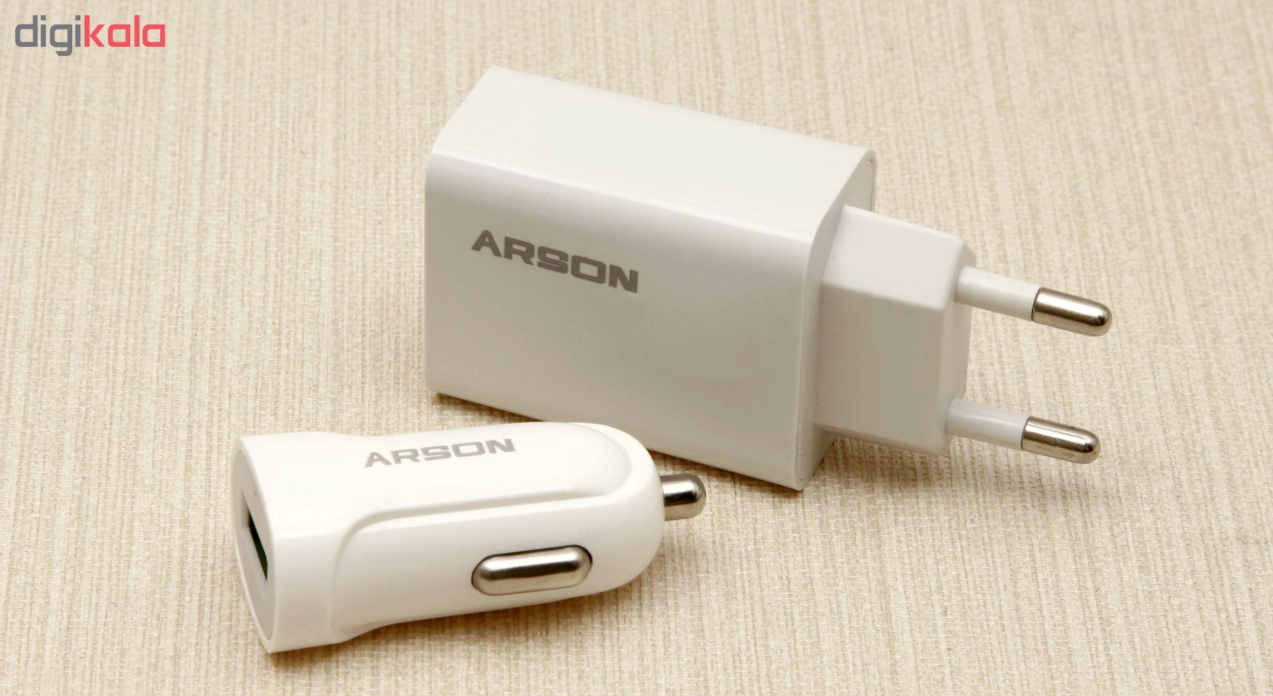 مجموعه لوازم جانبی آرسون مدل 3IN1 main 1 1