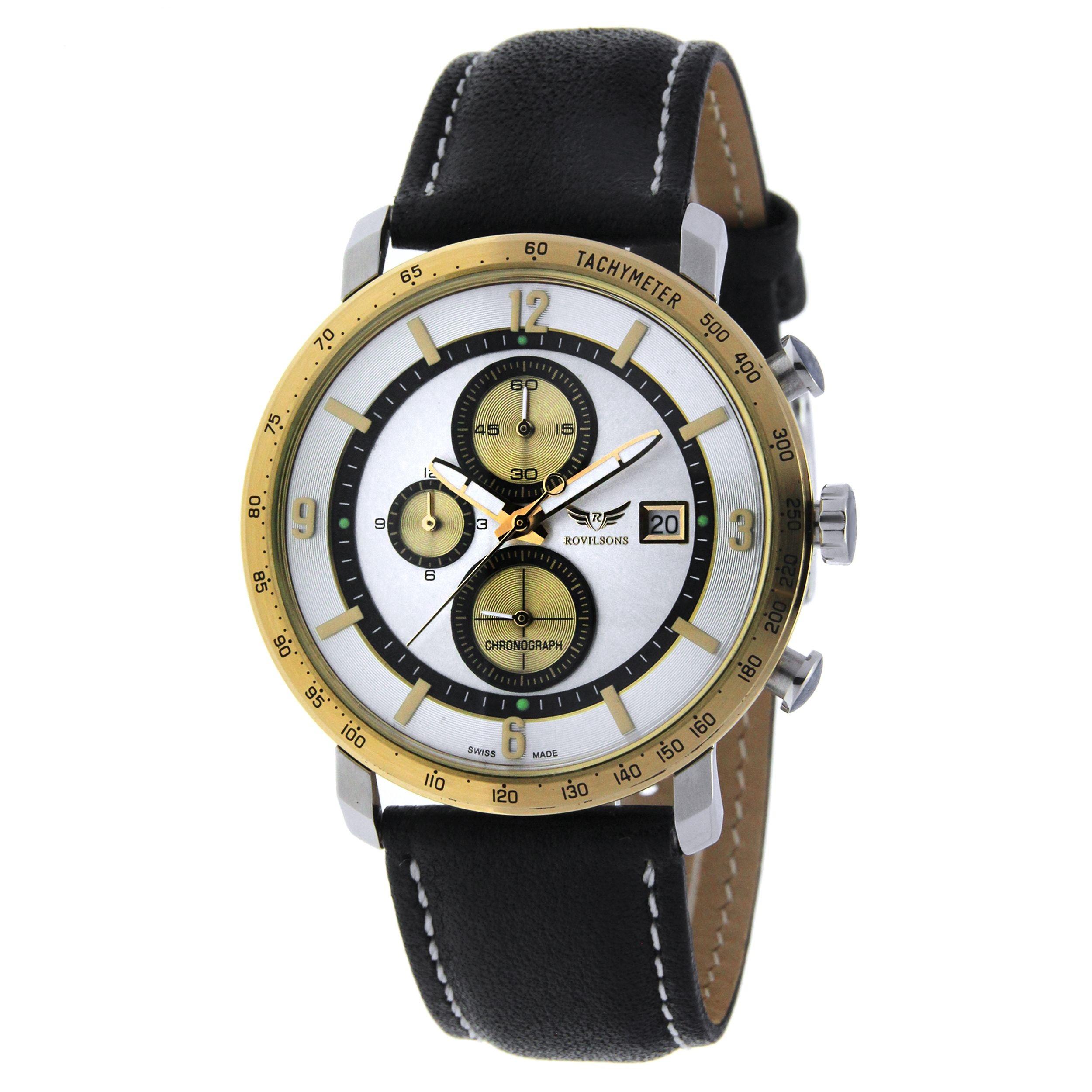 ساعت مچی عقربه ای مردانه راویلسون مدل RW-1062G-2 5