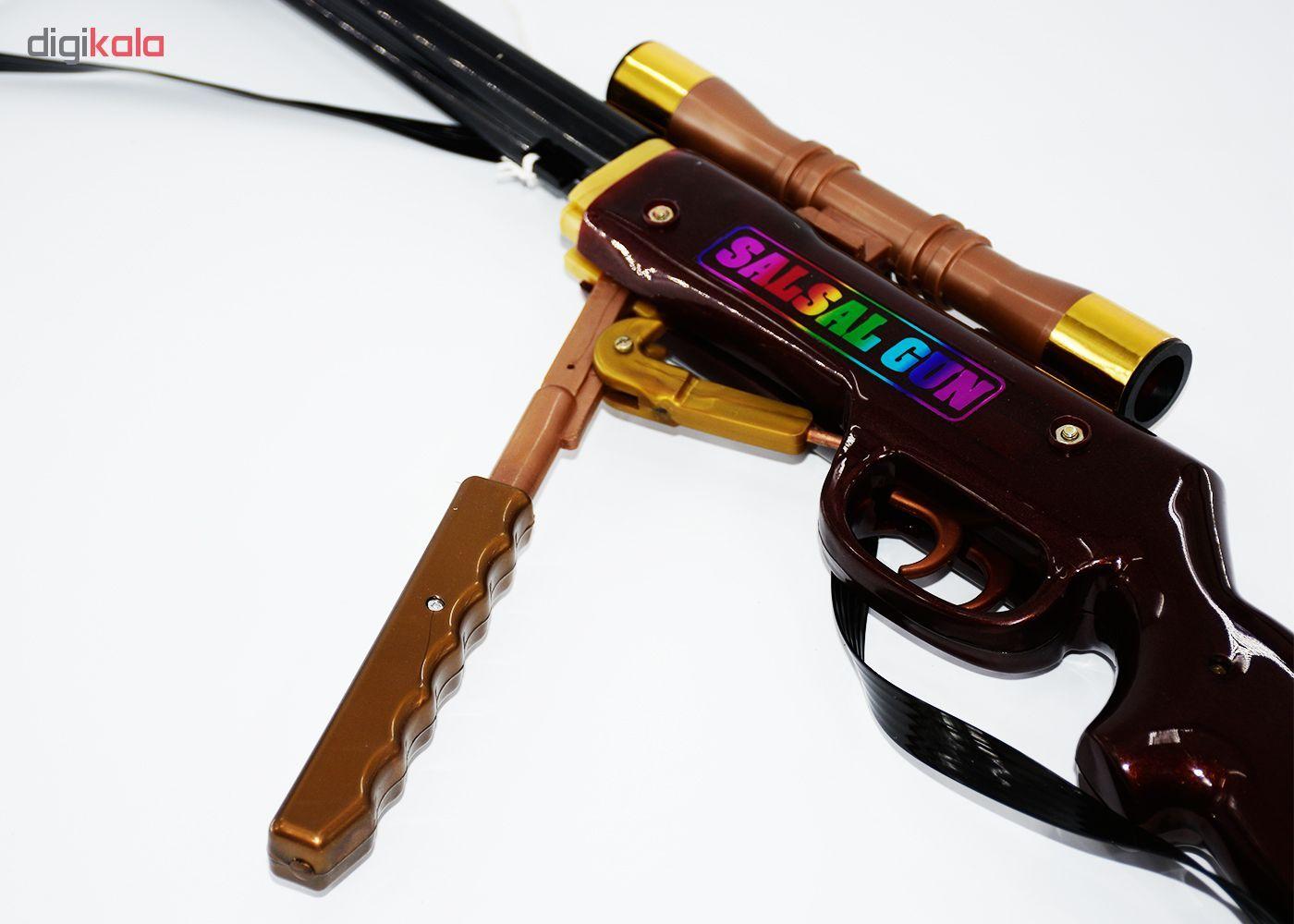 تفنگ اسباب بازی مدل salsal main 1 2