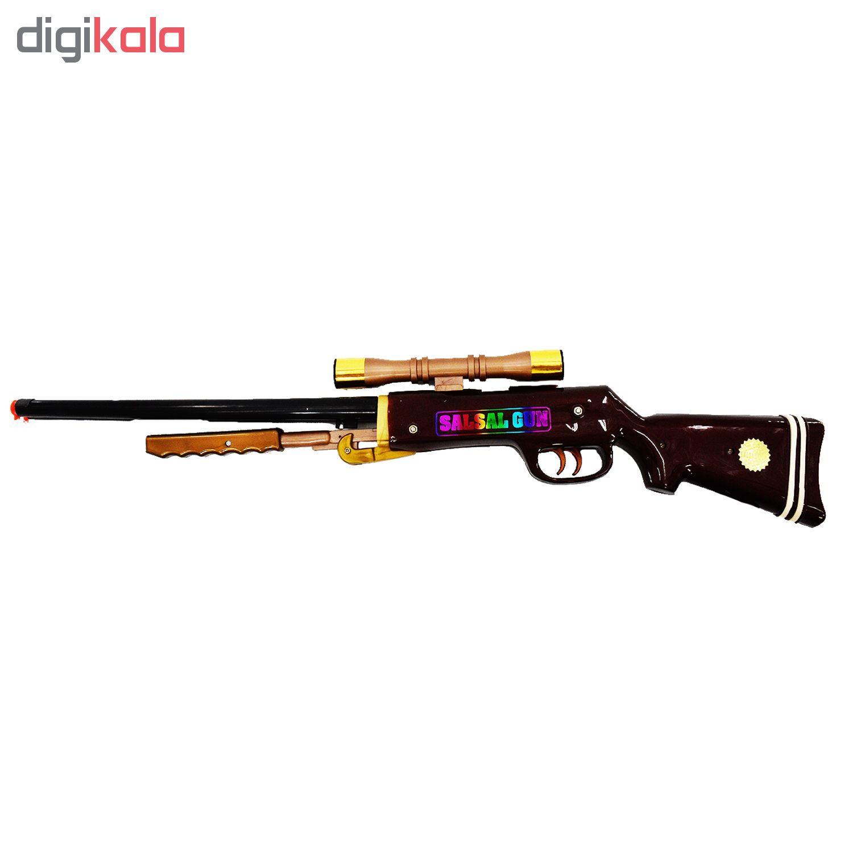 تفنگ اسباب بازی مدل salsal main 1 3