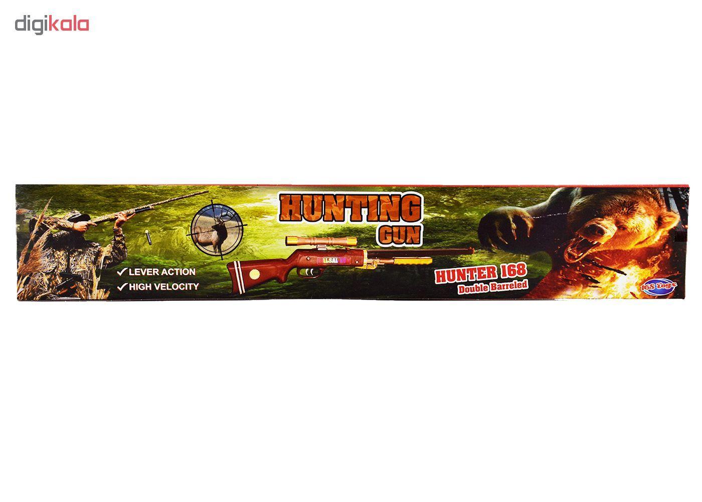 تفنگ اسباب بازی مدل salsal main 1 4