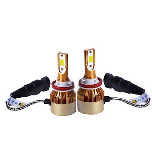 خرید اینترنتی                     لامپ هدلایت خودرو مدل D9h11 بسته ۲ عددی