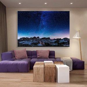 تابلو شاسی سری برترین عکس های نجومی طرح کهکشان راه شیری کد 456