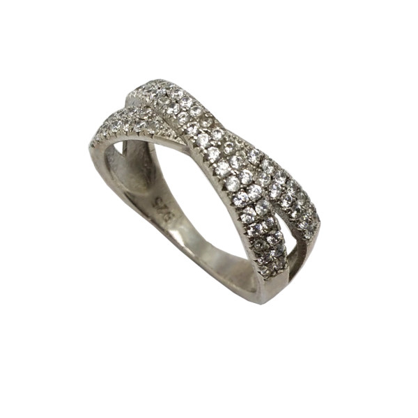انگشتر نقره زنانه کد N87221