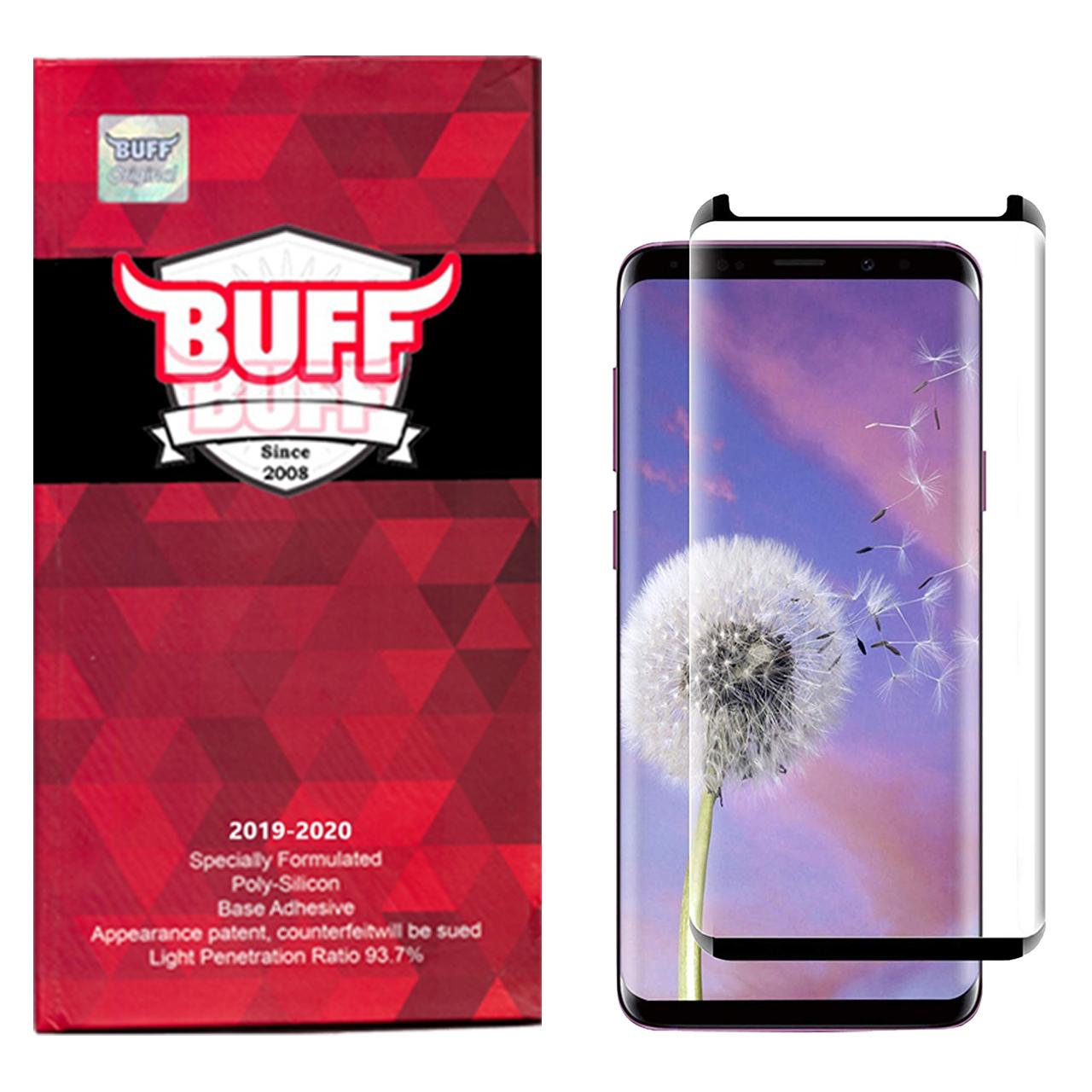 محافظ صفحه نمایش 5D بوف مدل FC33 مناسب برای گوشی موبایل سامسونگ Galaxy S9