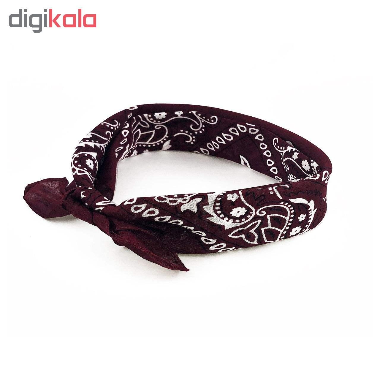 دستمال سر و گردن مدل khavar012 main 1 3