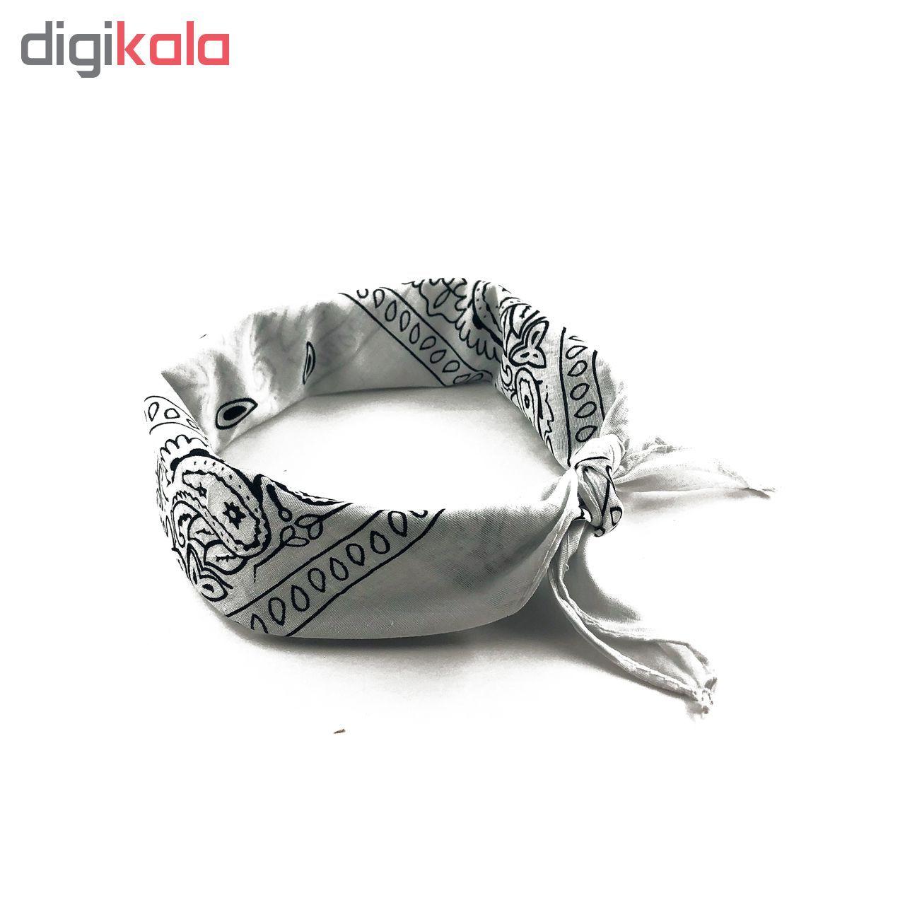 دستمال سر و گردن مدل khavar012 main 1 4
