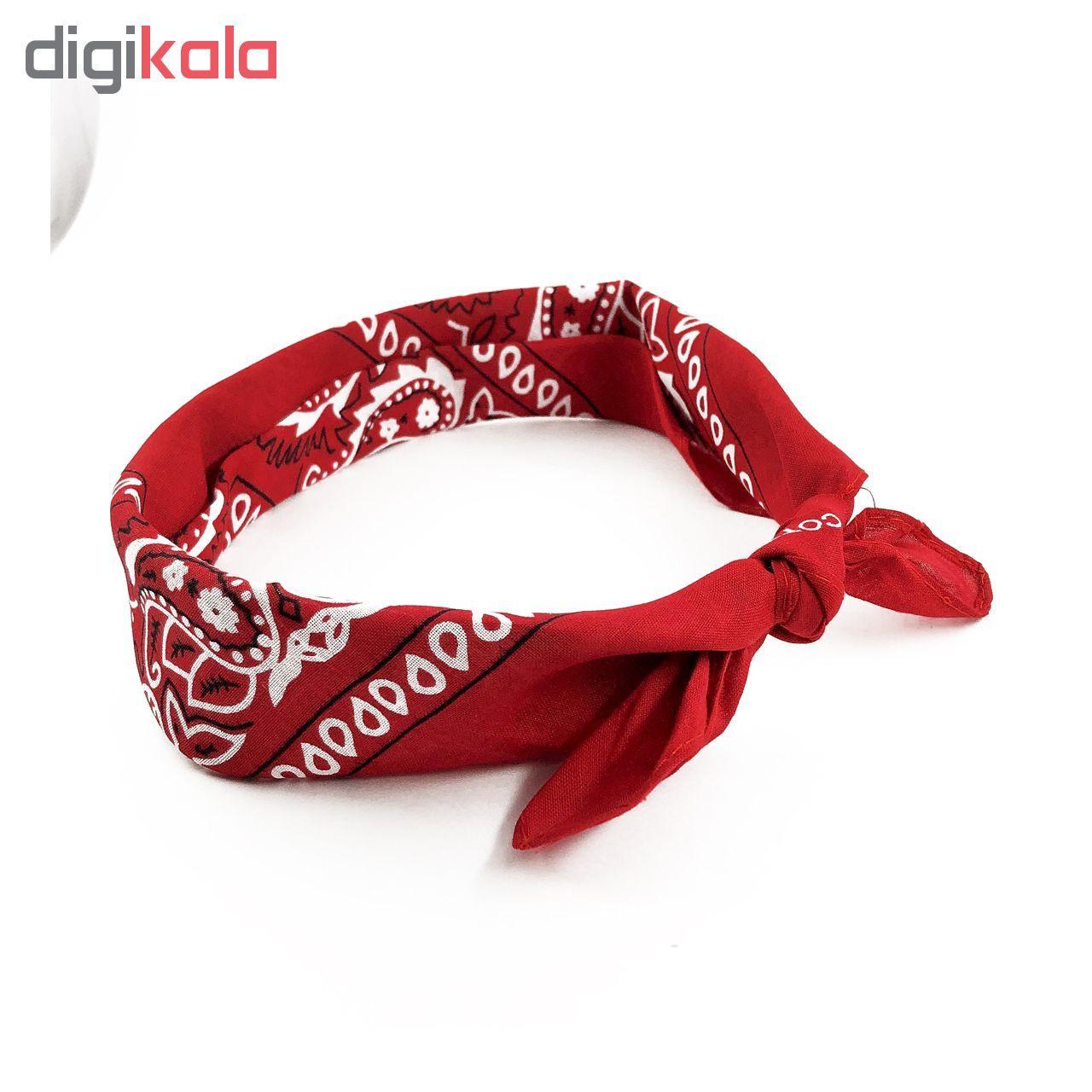 دستمال سر و گردن مدل khavar012 main 1 6