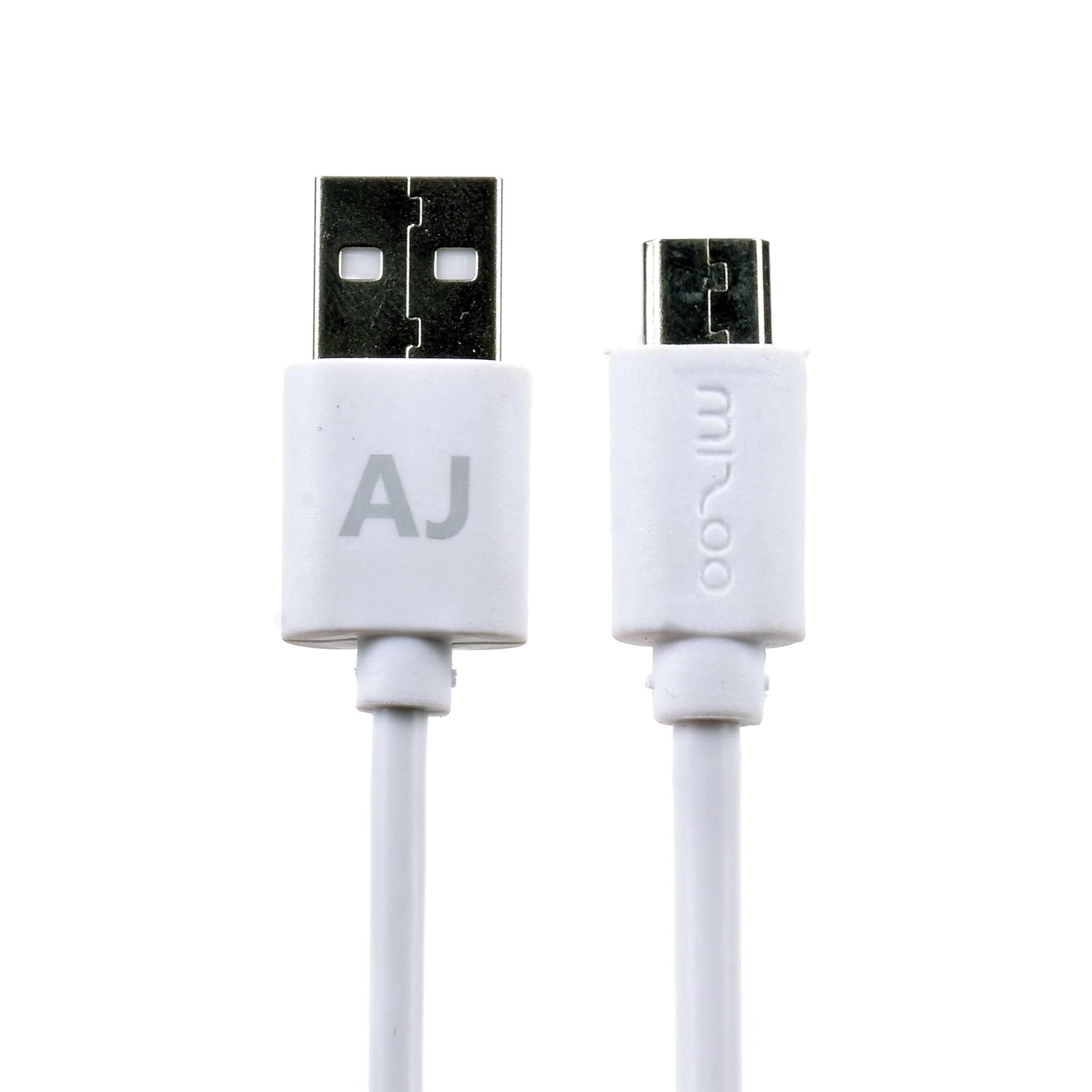 کابل تبدیل USB به microUSB میزو مدل Aj طول 1 متر