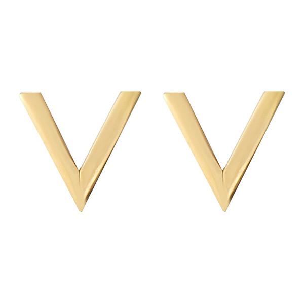 گوشواره طلا 18 عیار زنانه کانیار گالری مدل GM12