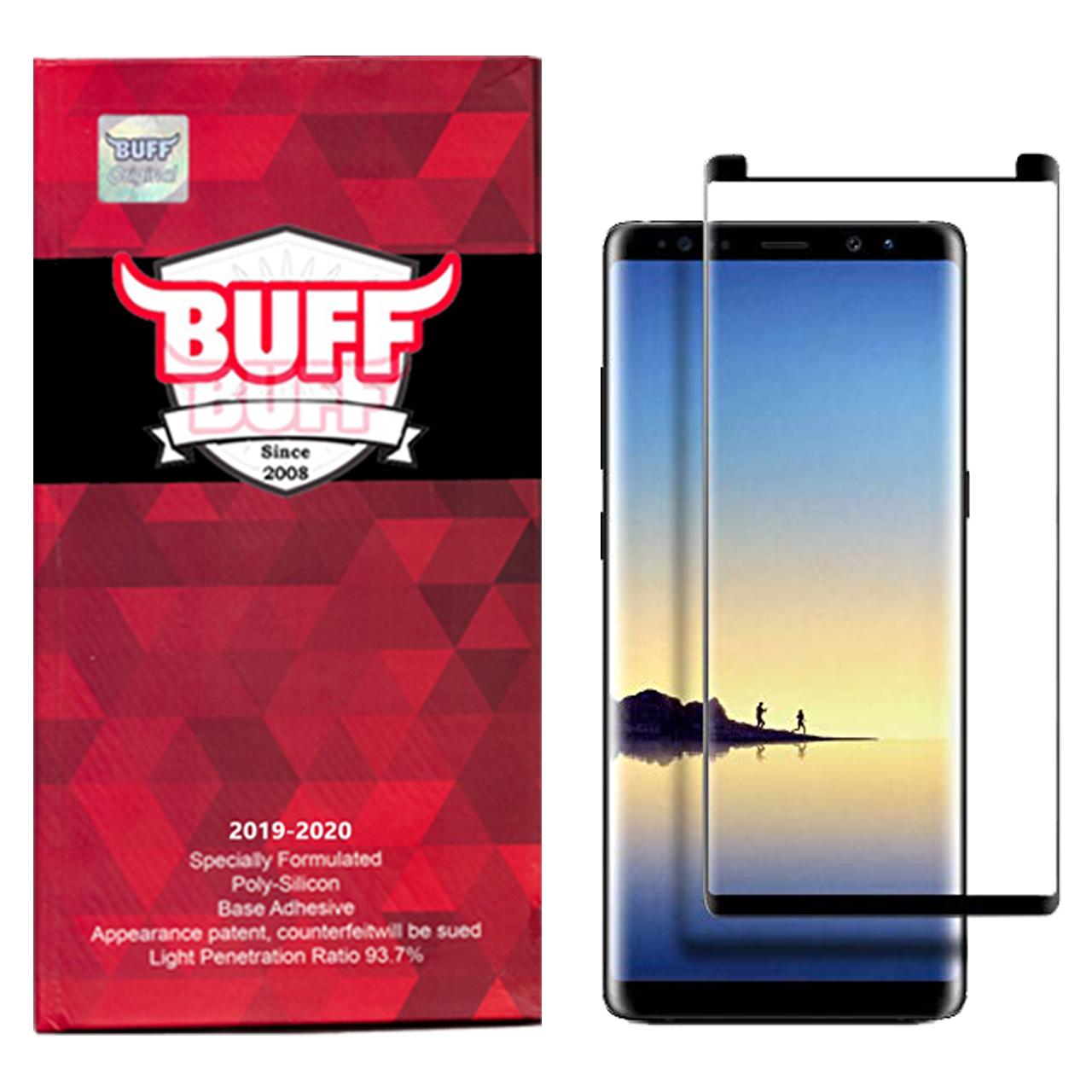محافظ صفحه نمایش 5D بوف مدل FC33 مناسب برای گوشی موبایل سامسونگ Galaxy Note 8