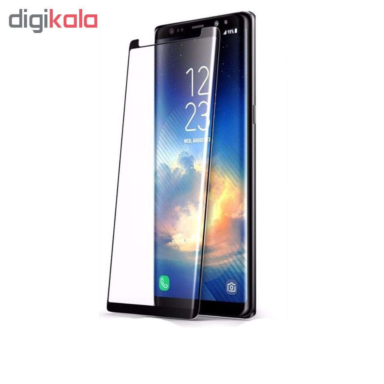 محافظ صفحه نمایش 5D بوف مدل FC33 مناسب برای گوشی موبایل سامسونگ Galaxy Note 8 main 1 2