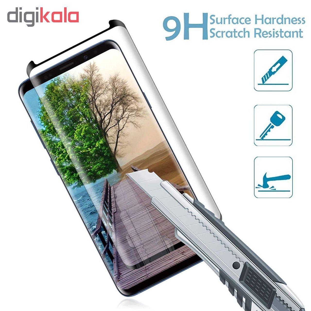 محافظ صفحه نمایش 5D بوف مدل FC33 مناسب برای گوشی موبایل سامسونگ Galaxy Note 8 main 1 3