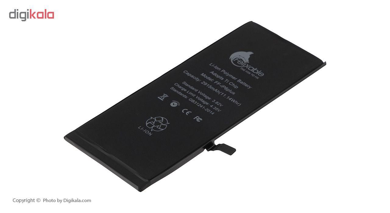 باتری موبایل فلیکسبل مدل FF-iP6P ظرفیت 2915 میلی آمپر ساعت مناسب برای گوشی موبایل اپل iPhone 6 Plus main 1 3
