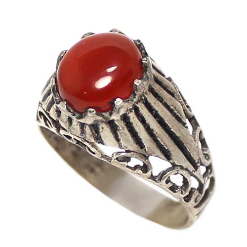 انگشتر نقره مردانه  کد 1763