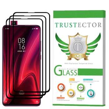 محافظ صفحه نمایش تراستکتور مدل GSS مناسب برای گوشی موبایل شیائومی Redmi K20  بسته 3 عددی