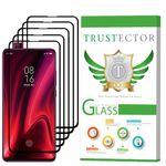 محافظ صفحه نمایش تراستکتور مدل GSS مناسب برای گوشی موبایل شیائومی Redmi K20 بسته 5 عددی thumb