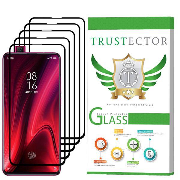 محافظ صفحه نمایش تراستکتور مدل GSS مناسب برای گوشی موبایل شیائومی Redmi K20 بسته 5 عددی