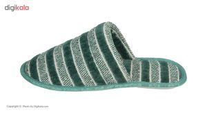 دمپایی حوله ای برق لامع مدل Shalizar-01  Bargh Lame Shalizar-01 Towel Slipper
