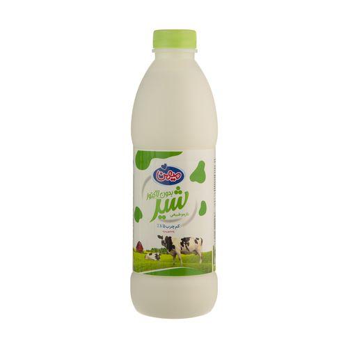 شیر کم چرب بدون لاکتوز میهن حجم 950 میلی لیتر