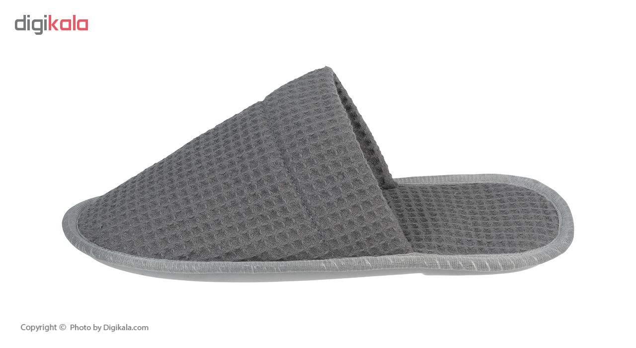 دمپایی حوله ای برق لامع مدل Zanboori Bath-04  Bargh Lame Zanboori Bath-04 Towel Slipper